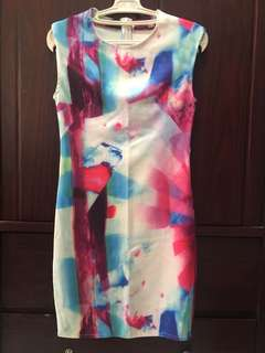Colorful Bodycon Dress