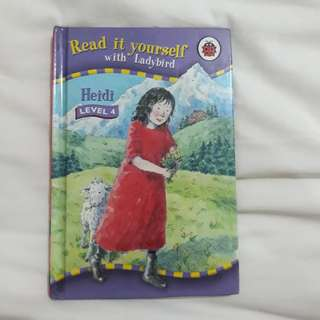 Ladybird Read It Yourself Level 4 Books (4 different books - Heidi, Peter and the Wolf, The Wizard of Oz, Dick Whittington)