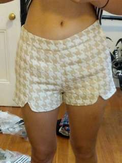 NUDE shorts size 6,8,10 available NWT