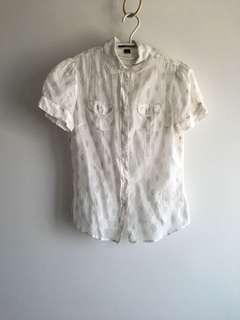 🚚 Gap雪紡上衣