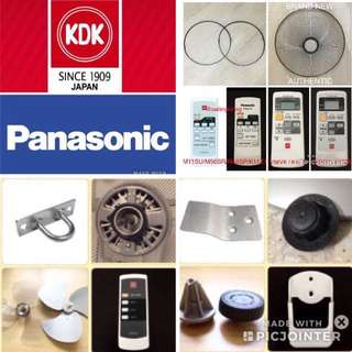 Accessories - KDK / Panasonic (brand new)