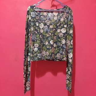 Mossimo flower top