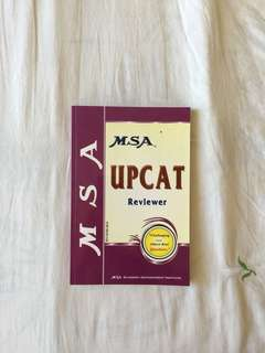MSA UPCAT Reviewer with Solution Guide