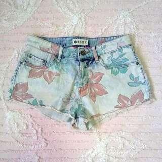 """Roxy"" High-waisted Short-shorts"