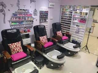 Nail business for sale in town