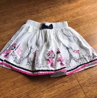 Disney minnie mouse skirt