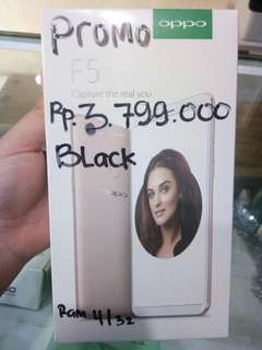 OPPO F5 Black kredit tanpa kartu kredit cepat dan aman garansi resmi