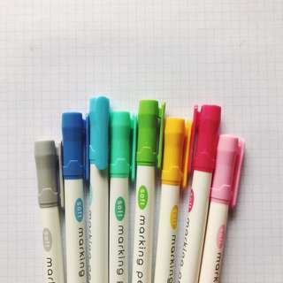 Soft Marking Pen Highlighters