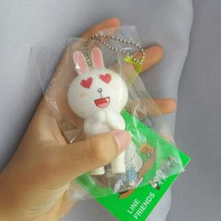 line rabbit squishy (^ω^)
