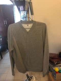 Topman - All Grey Bomber Jacket