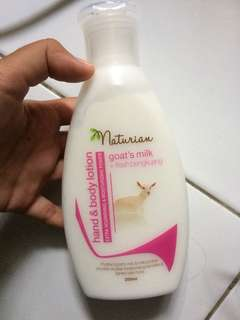 Naturian Goat's Milk Hand and Body Lotion