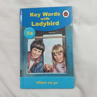 Where we go (Key words with Ladybird)