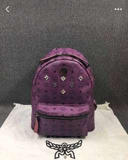 MCM 紫色背包