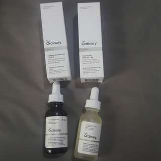 DAPET 2 : THE ORDINARY caffeine solution 5% + EGCG & Hyaluronic Acid 2% + B5