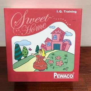 德國PEWACO 桌遊 美麗的城堡sweet home 9成8新