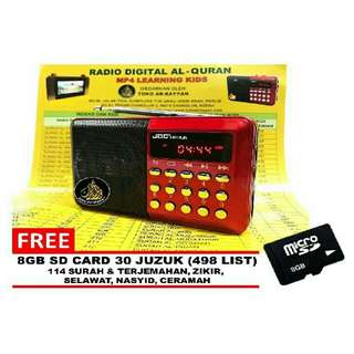 (ready stock) Radio Al-Quran 100% original