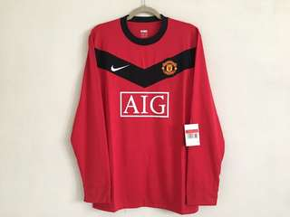 09/10 Manchester United Player issued shirt L/S