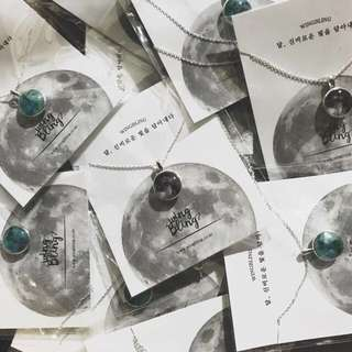 WINGBLING BLUE MOON NECKLACE