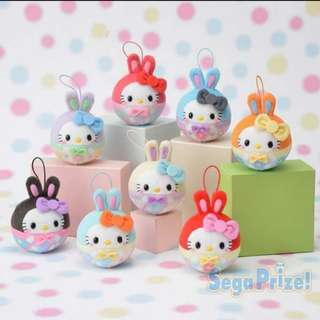 Hello Kitty  Easter Keychain