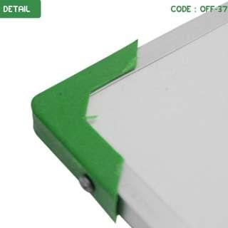 WHITE BOARD PAPAN TULIS SEDANG GANTUNG UKURAN 60X40 CM (OFF-37)