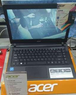 Kredit laptop acer semua tipe terbaru bergaransi resmi 1 tahun