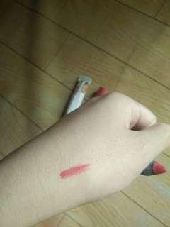 Hena dan lipstick kissprof