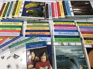 A child first library of learning encyclopedia nt usborne ladybird