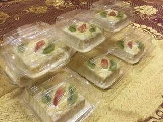 Kek Vanila Cheese Leleh (mini)