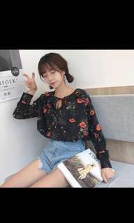 RS Free Postage Floral Top