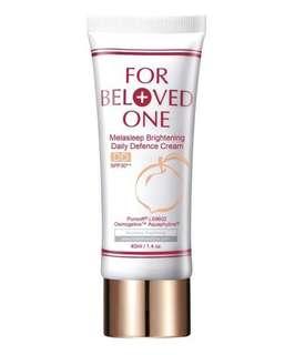 For Beloved One melasleep brightening daily Defence cream