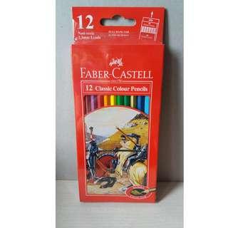 Faber Castell 12 classic colour pencil