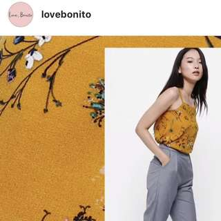 Love Bonito floral cami swing top (inspired)