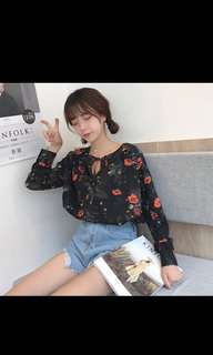 Free Postage Floral Top