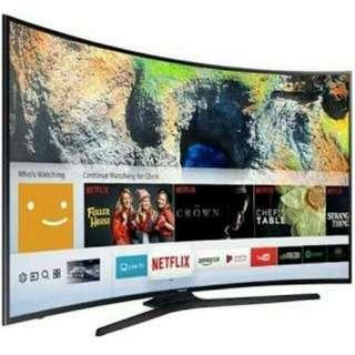 Samsung Smart Tv 55inch cicilan Proses cepat free 1x cicilan