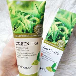Foodaholic Green Tea Foam Cleanser 180ml