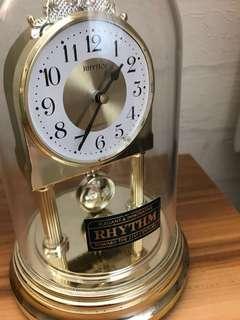 日本麗聲鐘 japan rhythm quartz clock antique 古董 搖擺石英鐘