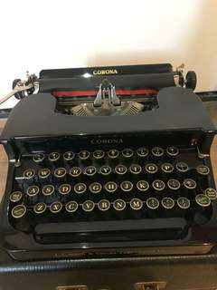 1936 L.C. Smith & Corona typewriters 打字機