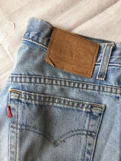 Levi's jeans 505 bought from Tokyo