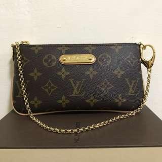 Louis Vuitton 金鏈 手拿 肩背包 M60094