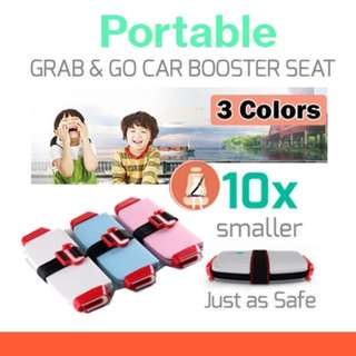 💌#i8 [NEW ] Grab-and-Go booster seat 10X Smaller  😍2 Months Warranty [ Same as Mifold car seat]