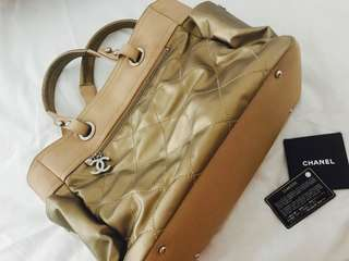 Authentic Chanel Biarritz Tote Bag