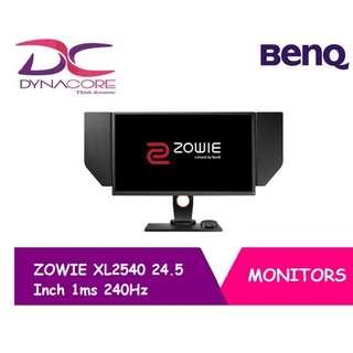 [BENQ] ZOWIE XL2540 24.5 Inch 1ms 240Hz Monitor [BRAND NEW] [DYNACORE]