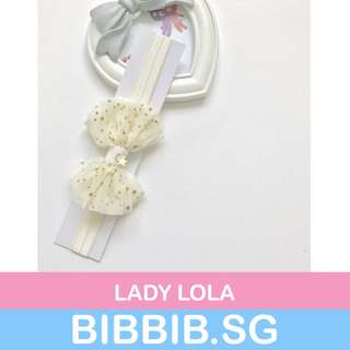 Baby Hairband - Lady Lola