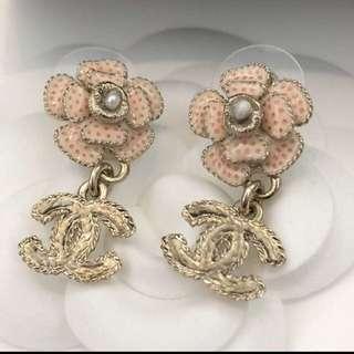 Chanel Earrings 最新版 山茶花全新購自歐洲