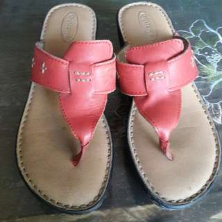 original outland slipper  high  red