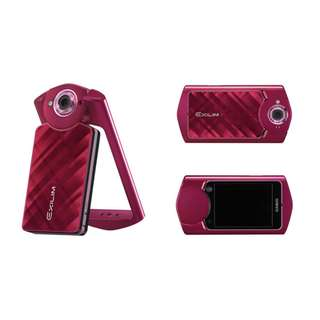 Casio Exilim EX-TR50 Camera Red Like New with Box