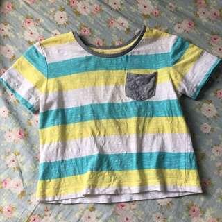 🚚 二手澳洲帶回💟男童休閒風T-shirt 1號