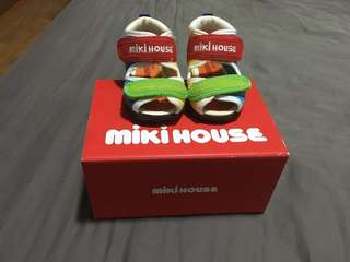 Miki house baby walking shoes 12cm