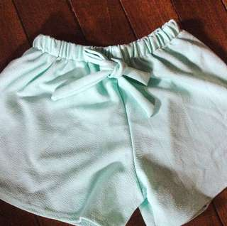 Mint green dolphin shorts ✨