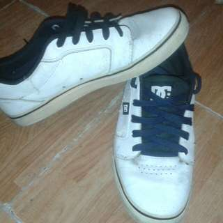DC White leather
